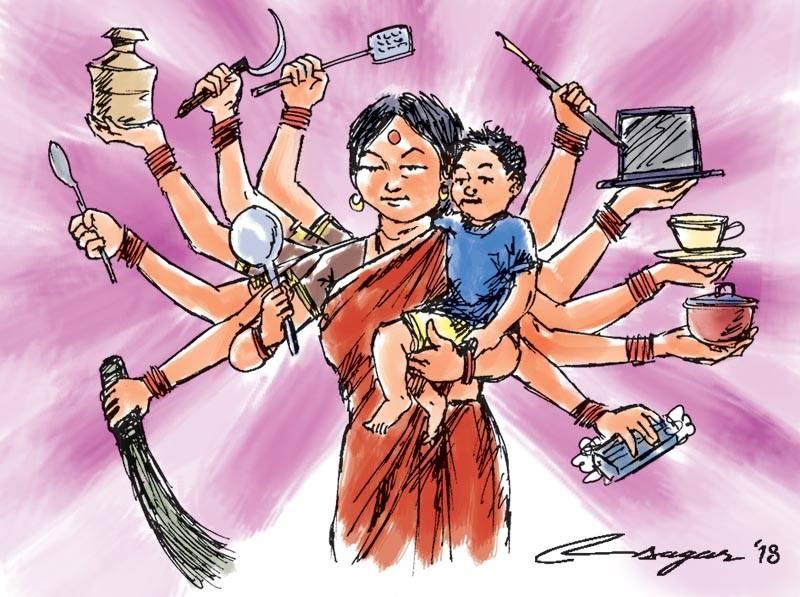 Women's unpaid care work: Let's recognise it