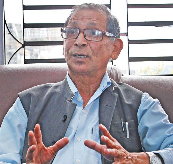 CPN-Revolutionary Maoist Chairman Mohan Baidya. THT Online/File.