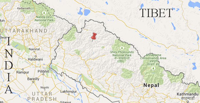 Baitadi. Map: Google