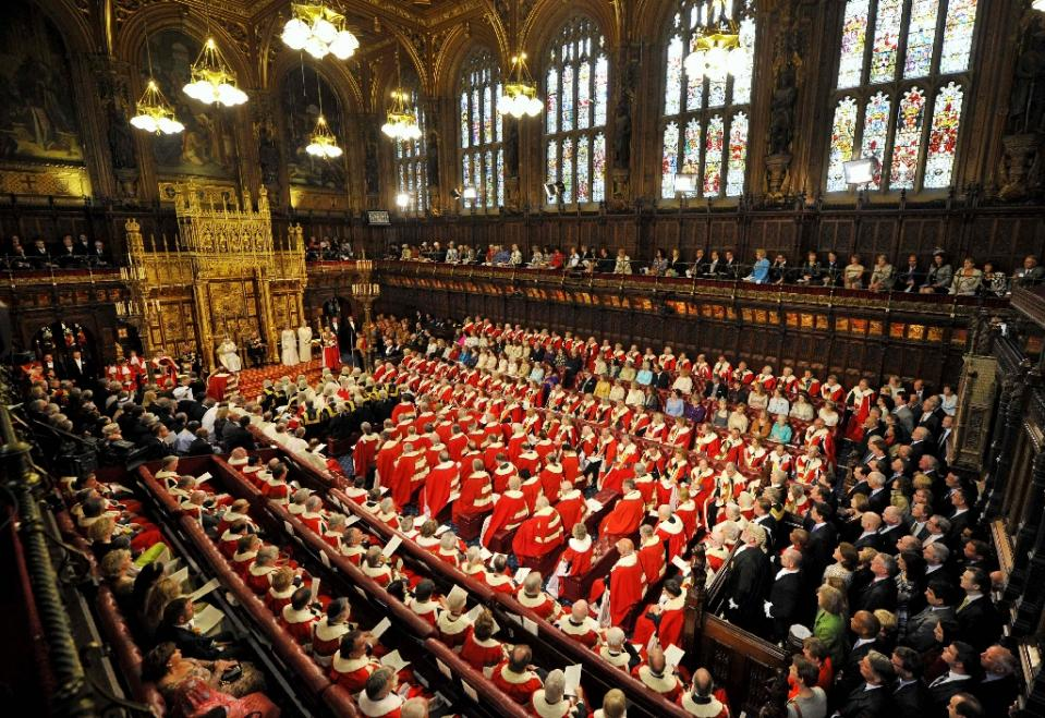 nThe scandal has prompted renewed calls for reforms to the House of Lords, made up of 783 peers. Photo: AFP/File