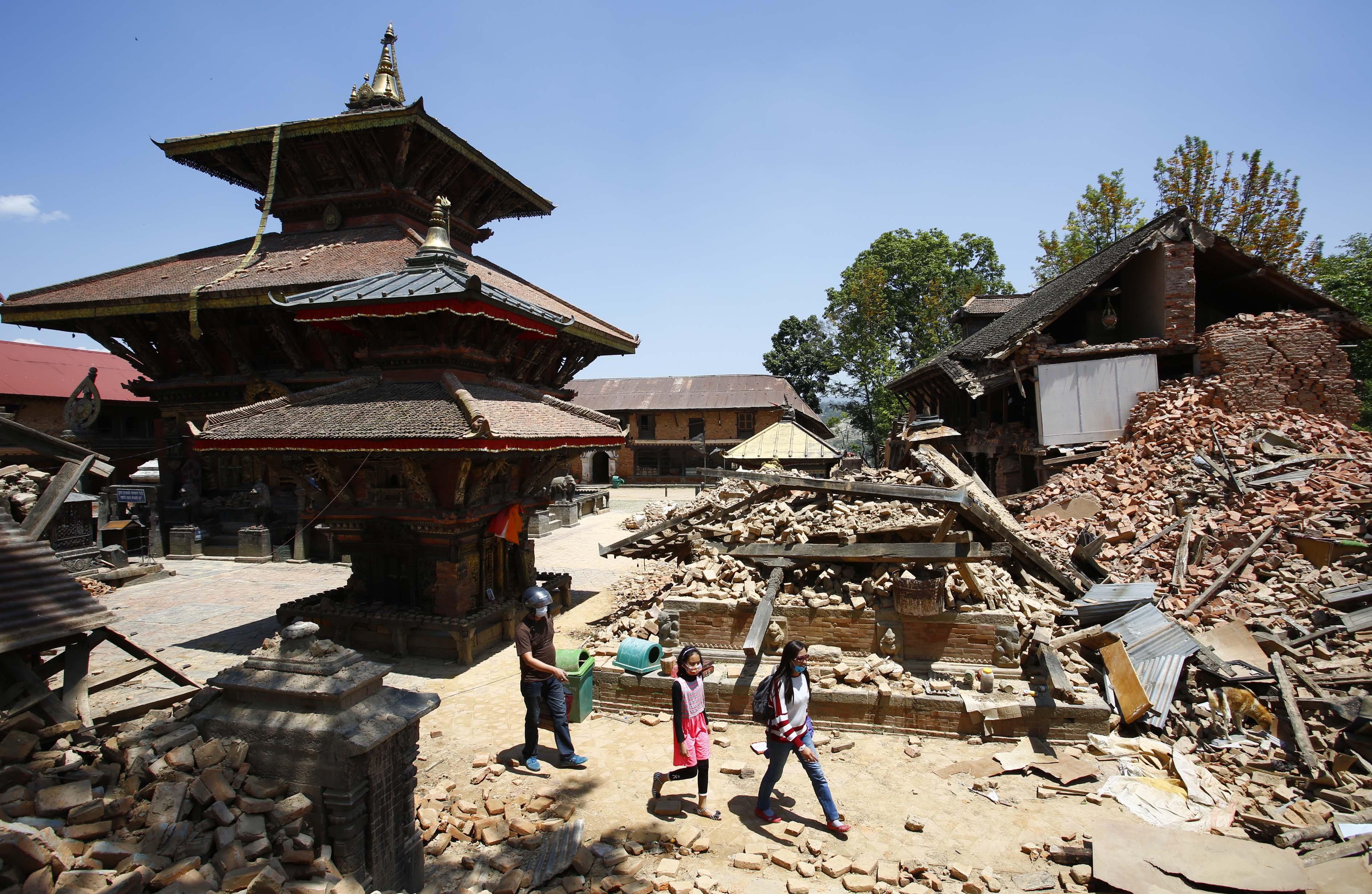 Changunarayan Temple in Bhaktapur,. THT Online file photo