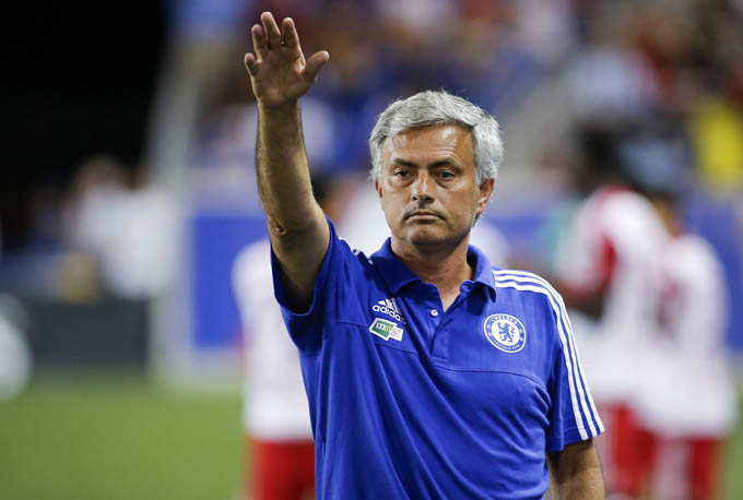 Chelsea manager Jose Mourinho. Photo: Reuters/Filenn