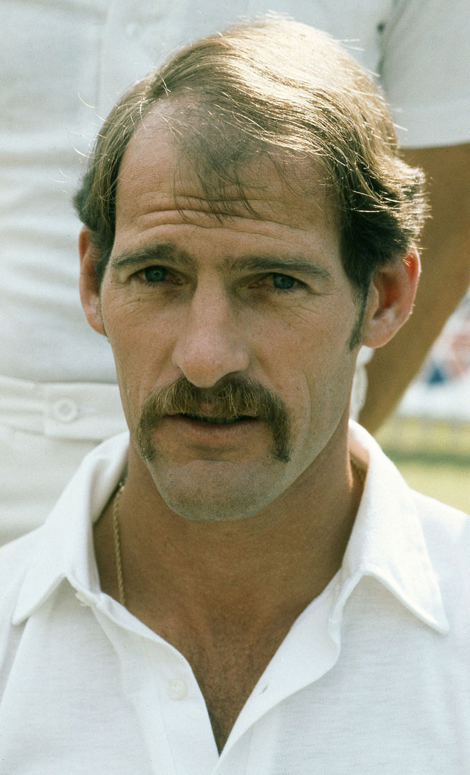 An undated picture released by SASPA shows South African cricket legend Clive Rice posing in Johannesburg. Photo: AFP/ SASPA/ WESSEL OOSTHUIZENn