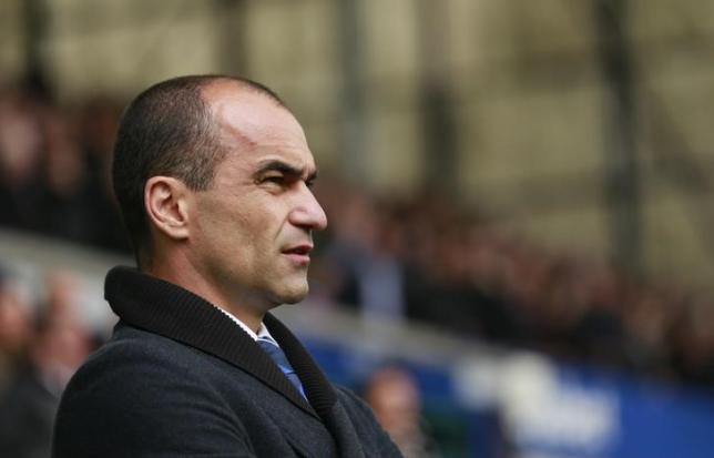 Everton manager Roberto Martinez. Reuters
