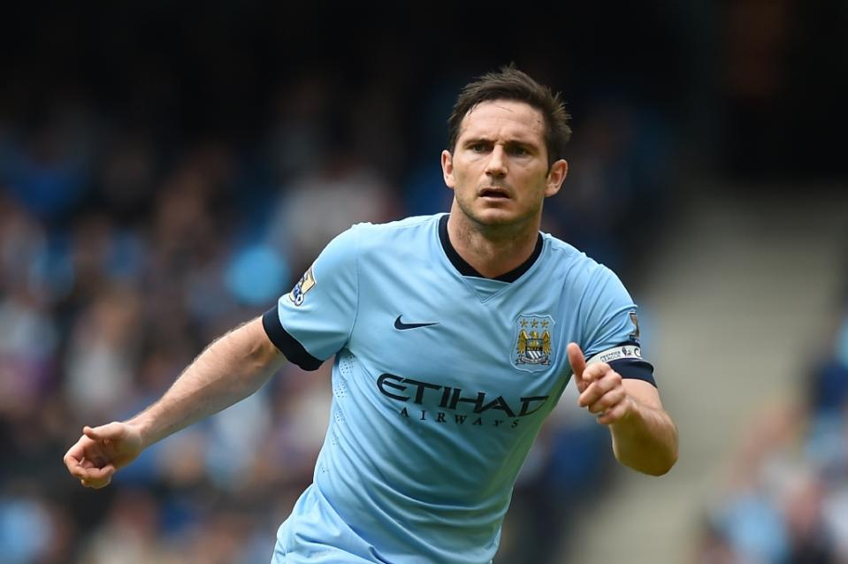 Former England international Frank Lampard will not play in next week's Major League Soccer All-Star Game against Tottenham Hotspur because of a nagging calf strain, the league announces. Photo: AFP