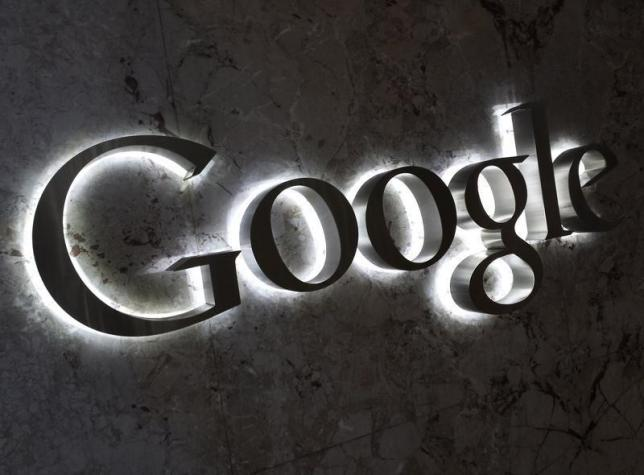 A Google logo is seen at the entrance to the company's offices in Toronto September 5, 2013. Photo: Reuters