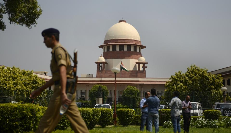 Supreme Court of India. Photo: AFP