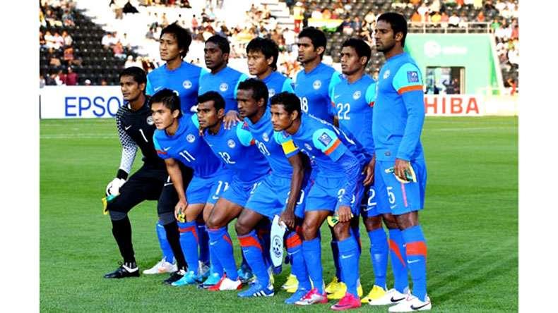 Indian national team. Photo: IANS