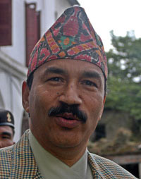 RPP-N Chairman Kamal Thapa