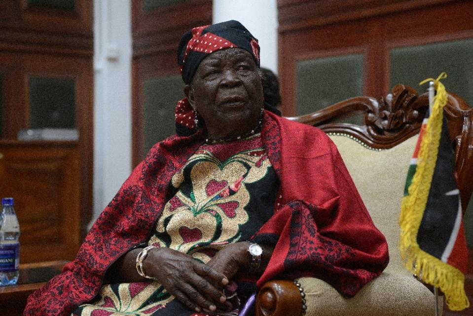 US President Barack Obama's grandmother -- known as Mama Sarah -- lives in the small village of Kogelo in western Kenya. Photo: AFP