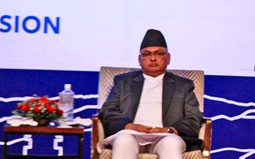 Minister for Foreign Affair Mahendra Bahadur Pandey. THT Online file photo