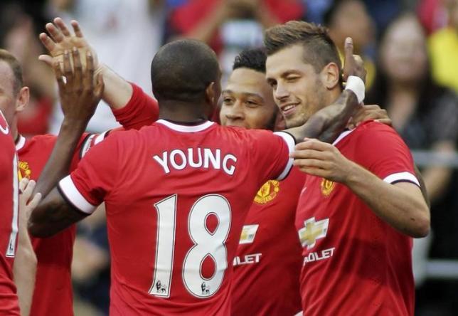 Manchester United's Morgan Schneiderlin. Reuters