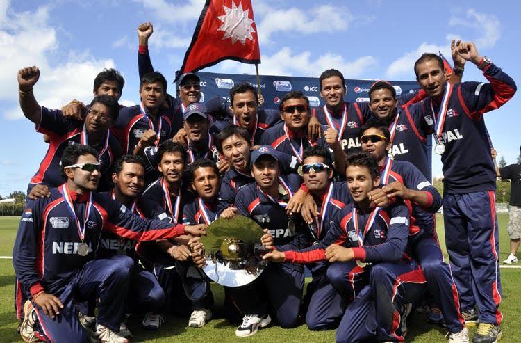 Nepal cricket team. Photo:  THT/Filen