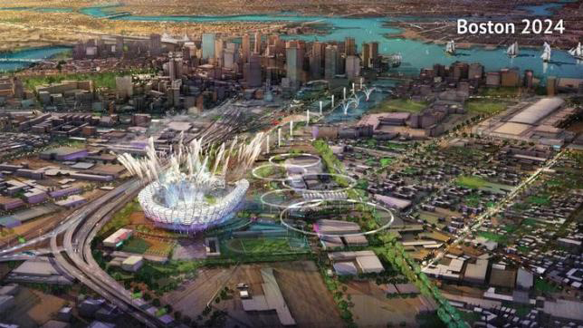 A proposed Olympic Stadium in Boston, Massachusetts is seen in this handout image made available January 21, 2015 by the Boston2024 group, which organized Boston's bid to host the 2024 Summer Olympics. Photo: Reuters