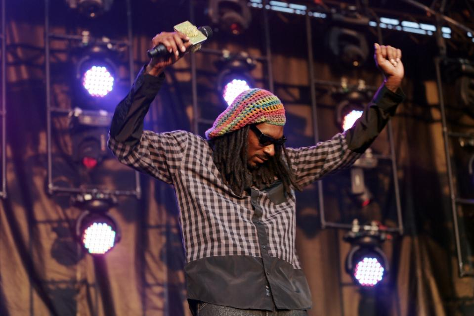 nThe rapper Snoop Dogg performs at the Firefly Music Festival in Dover, Delaware on June 21, 2015. Photo: AFP
