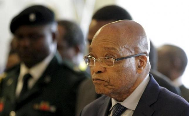 South African President Jacob Zuma attends the summit of the Southern African Development Community (SADC), called to discuss industrialisation in southern Africa, in Harare, April 29, 2015.  Photo: Reuters