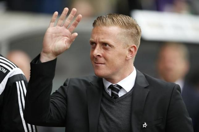 Swansea manager Garry Monk. Photo: Reuters