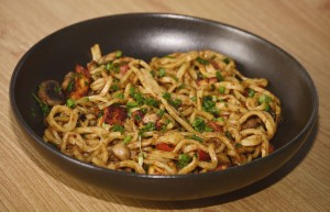 Veg. Tibetan dry noodles