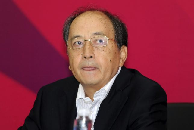 Xiao Tian, deputy director of General Administration of Sports of China, attends a news conference in Shanyang, Liaoning province, China, August 30, 2013. REUTERS/Stringer/Files