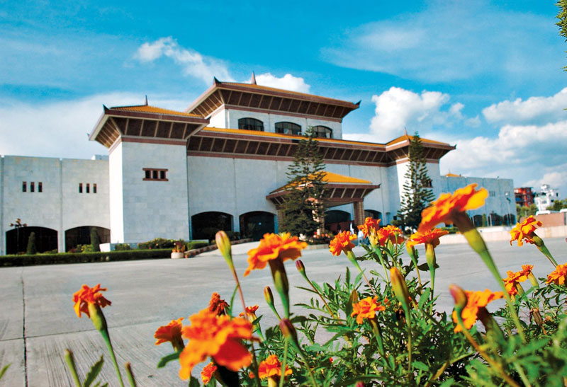 Constituent Assembly building of Nepal. Photo: THT/File