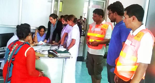 u00a0A free health camp organised by Indian citizen Abhishek Sawant in Chitwan district on Thursday, July 16, 2015. Photo: Tilak Rimal
