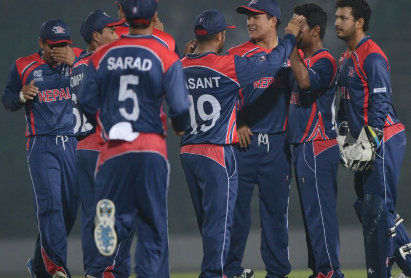 Nepal cricket team. Photo: ICC