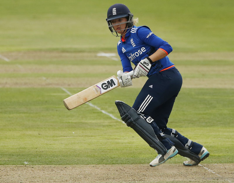 England v Australia - Women's Ashes Series 2015 - Second Royal London One Day International - The County Ground, Bristol - 23/7/15 England's Sarah Taylor in action. Photo: Reuters
