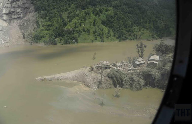 Tributary of Sunkoshi River and Bhotekoshi River. Photo Courtesy: Nepal Armynn