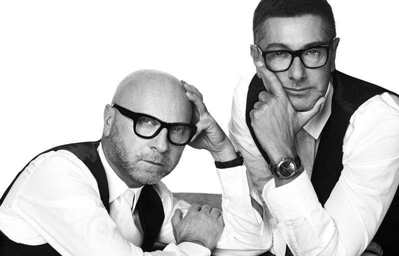 Domenico Dolce and Stefano Gabbana. Photo: teabreakfast.com