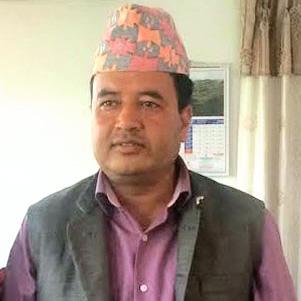 Former Industry Minister Mahesh Basnet Courtesy: MoI