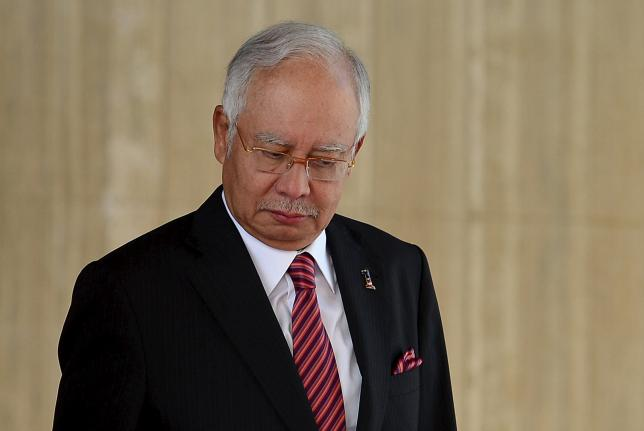 Malaysia's Prime Minister Najib Razak is pictured during the 19th Annual Leaders Consultation at Nurul Iman Palace in Bandar Seri Begawan, Brunei, August 11, 2015. REUTERS/Ahim Rani