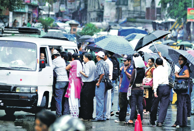 Kathmandu public transport
