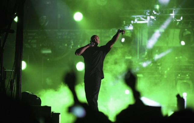 Dr. Dre performs at the 2012 Coachella Valley Music and Arts Festival in Indio, California April 15, 2012. Photo: REUTERS/David McNew/Files