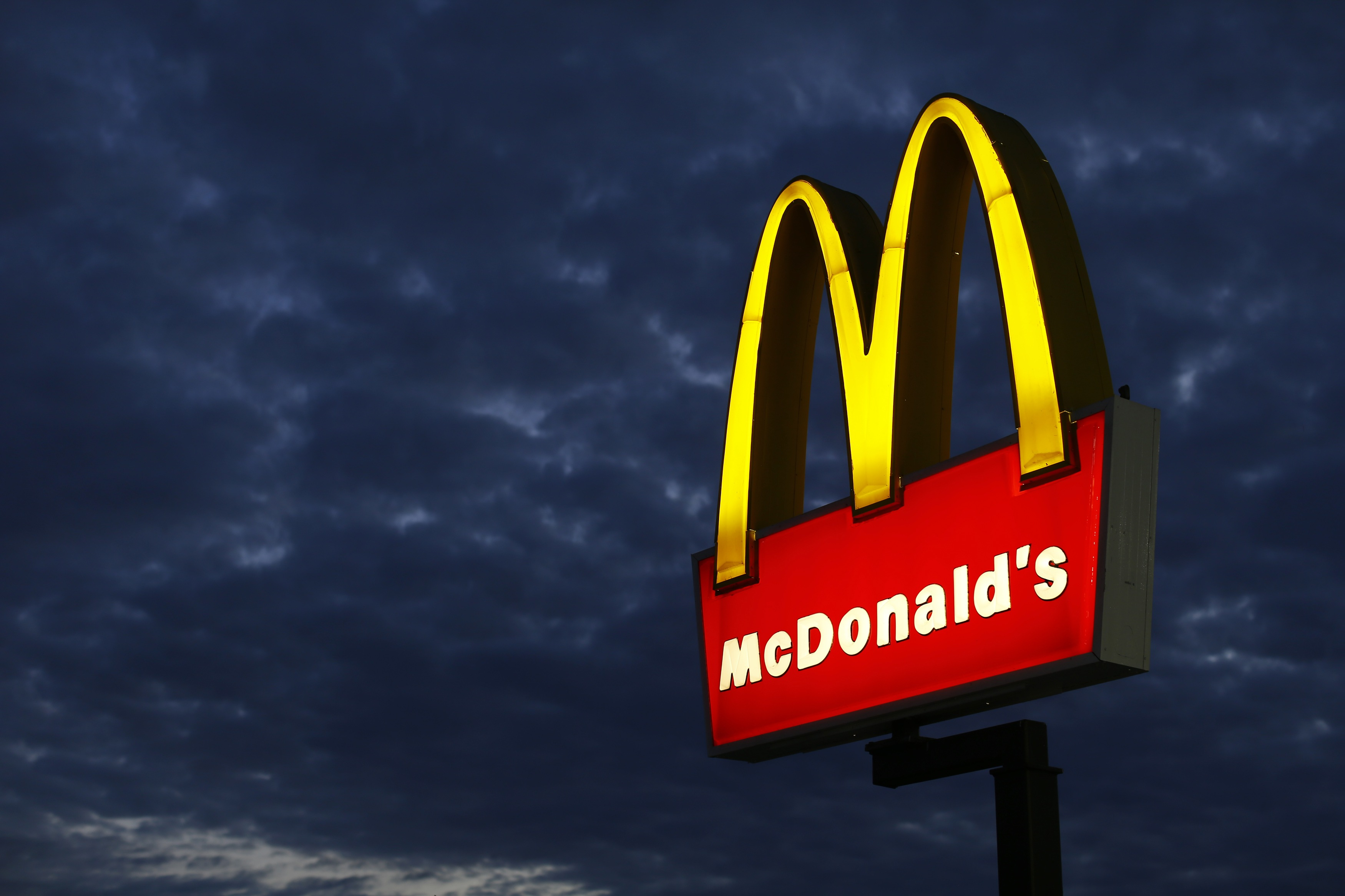 A McDonald's restaurant is pictured in Encinitas, California, in this file photo taken on September 9, 2014. Photo: Reuters