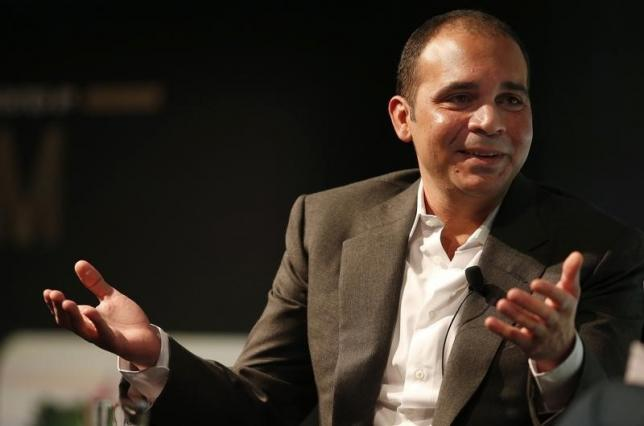 FIFA vice-president Prince Ali Bin Al Hussein of Jordan gestures during a speech on the future of football at the Soccerex convention in Manchester, northern Britain, September 7, 2015. REUTERS/Phil Noble