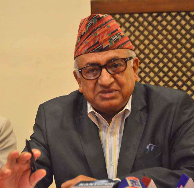 Ambassador Deep Kumar Upadhyaya. Photo: Reporters Club