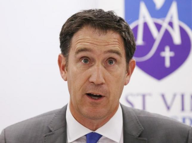 Cricket Australia Chief Executive James Sutherland speaks at a news conference in Sydney, November 27, 2014. Photo: Reuters/File