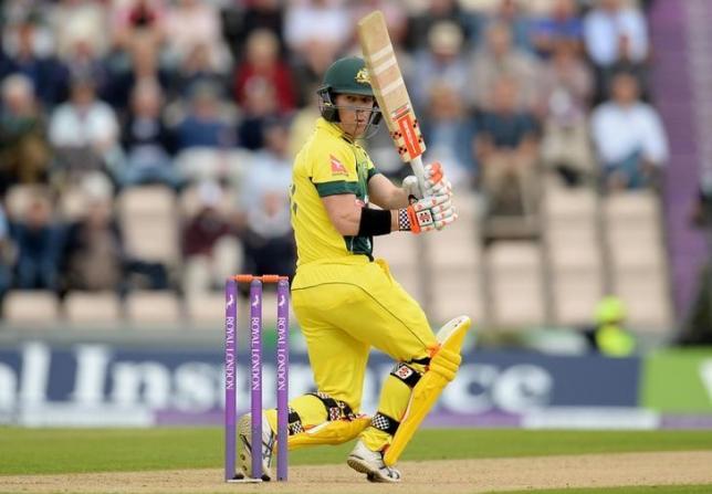 Cricket - England v Australia - First Royal London One Day International - Ageas Bowl - 3/9/15nAustralia's David Warner in actionnAction Images via Reuters / Philip BrownnLivepic