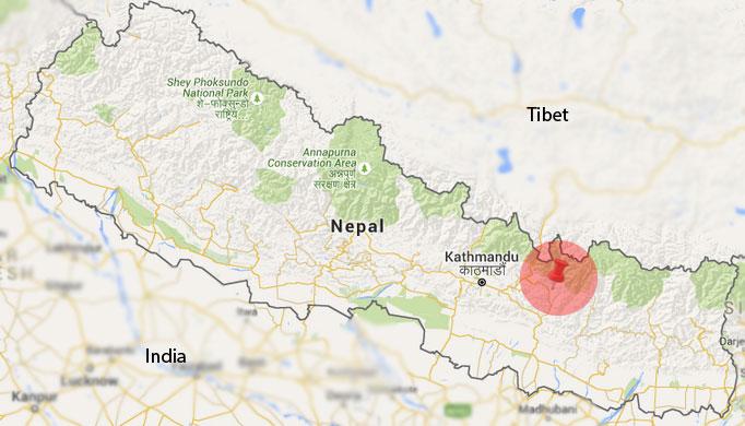 Map: NSC/Google