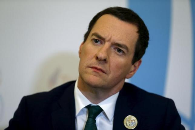 British Finance Minister George Osborne listens to a question during an interview with Reuters in Ankara, Turkey, September 5, 2015. Photo: Reuters