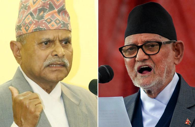 President Ram Baran Yadav-Prime Minister Sushil Koirala