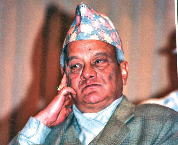 Rastriya Prajatantra Party Chairman Lokendra Bahadur Chand