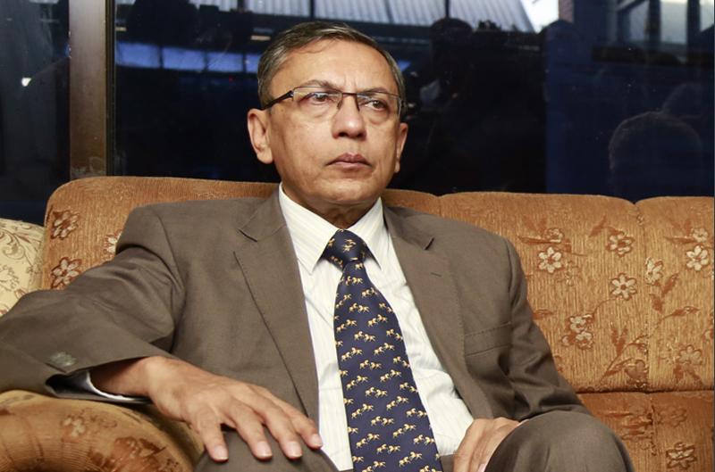 India's ambassador to Nepal, Ranjit Rae. Photo: RSS