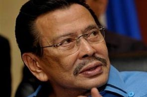 Deposed former president Joseph Estrada, seen in Manila in September. Estrada, ousted in a popular uprising in 2001 and later convicted of graft, said on Wednesday he would run again for president in next year's elections. Source: AFP