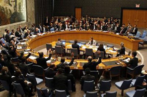 The United Nations Security Council unanimously votes to adopt a resolution that expands financial sanctions and the U.N. trade embargo on North Korea during a meeting of the Council at the U.N. headquarters in New York June 12, 2009. Source: Agencies