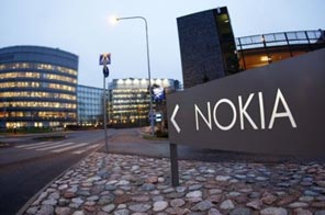 The headquarters of Nokia in Espoo, Finland. Source: AFP