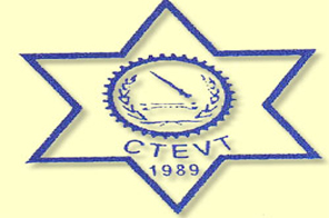 Council for Technical Education and Vocational Training (CTEVT) logo.