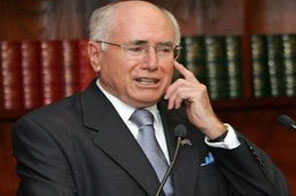 Former Australian Prime Minister John Howard (pictured in 2007) is in the running to take charge of international cricket, according to reports. Source: AFP