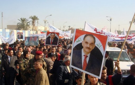 Saleh al-Mutlak is one of the most prominent politicians banned Source: AFP