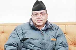 Jhala Nath Khanal Source: THT
